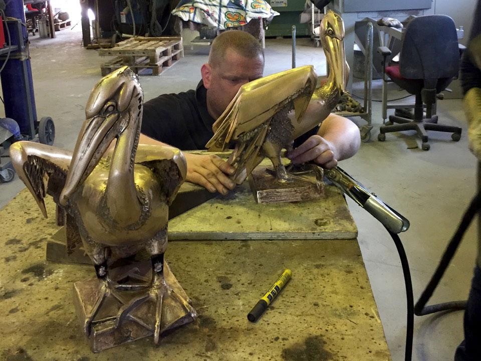 bronsgieterij Stijlaart